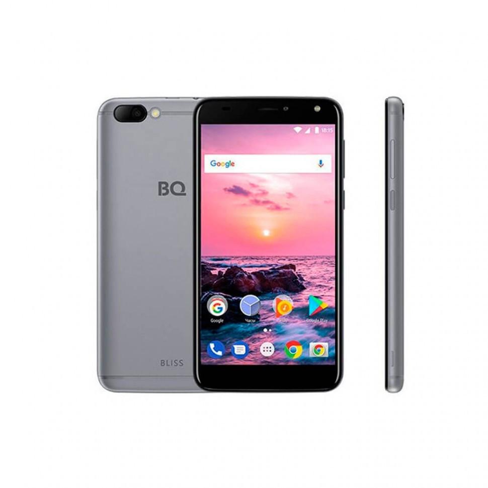 Смартфон BQ-5511L Bliss Серый