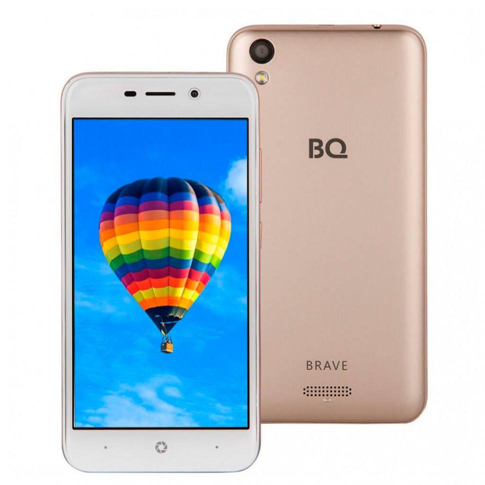 Смартфон BQ-5008L Brave Золотой