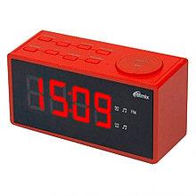 Радиочасы Ritmix RRC-1212 red