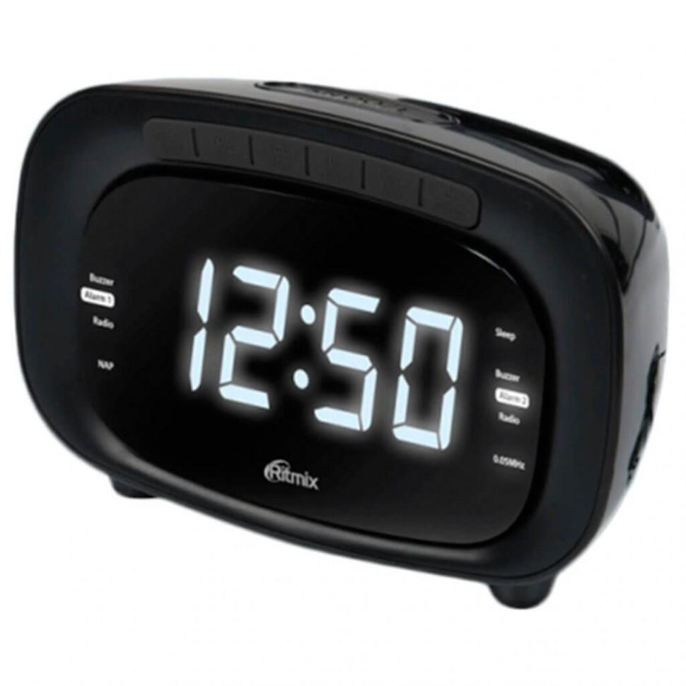 Радиочасы Ritmix RRC-1250 black