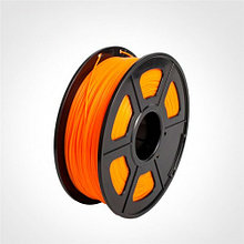 Пластик для 3D принтеров гибкий, SunLu, прозрачно-оранжевый