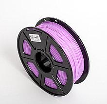 Пластик для 3D принтеров гибкий, SunLu, прозрачно-пурпурный