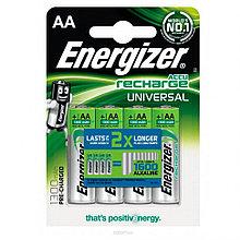 Аккумуляторы Energizer Universal NH15 NiMH AA 1300mAh 4 штуки в блистере