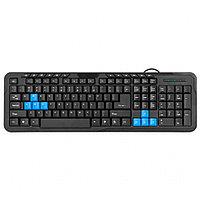 Клавиатура проводная Defender OfficeMate HM-430 RU черный