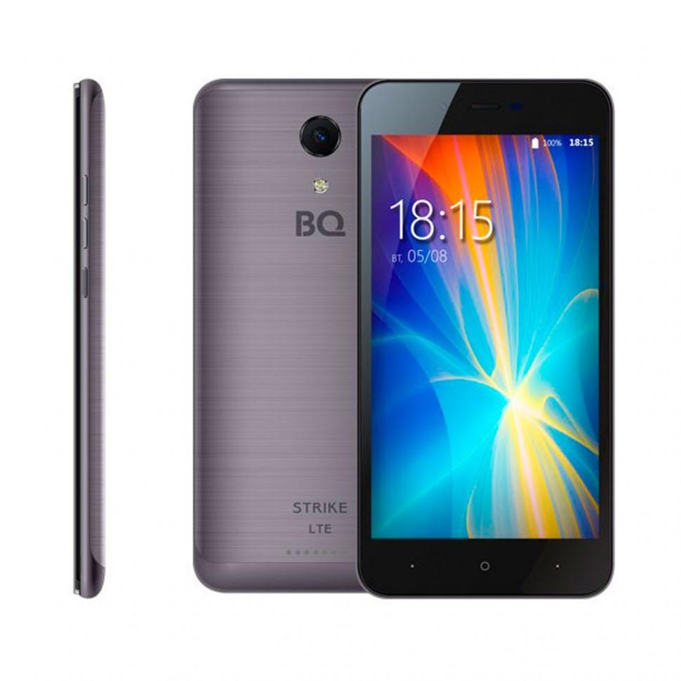 Смартфон BQ-5044 Strike LTE Темно-Серый Шлифованный