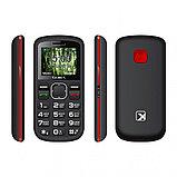 Мобильный телефон Texet TM-B220 черный-красный, фото 2