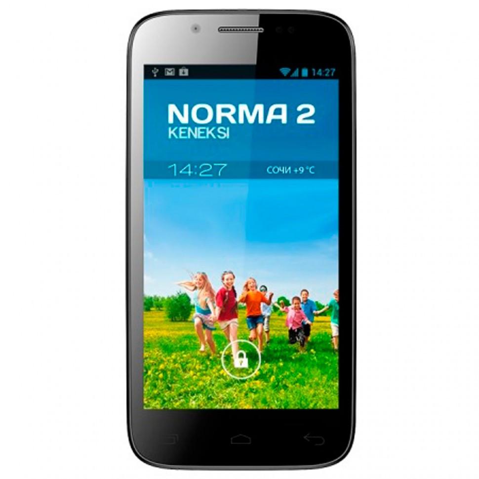 Мобильный телефон KENEKSI Norma black