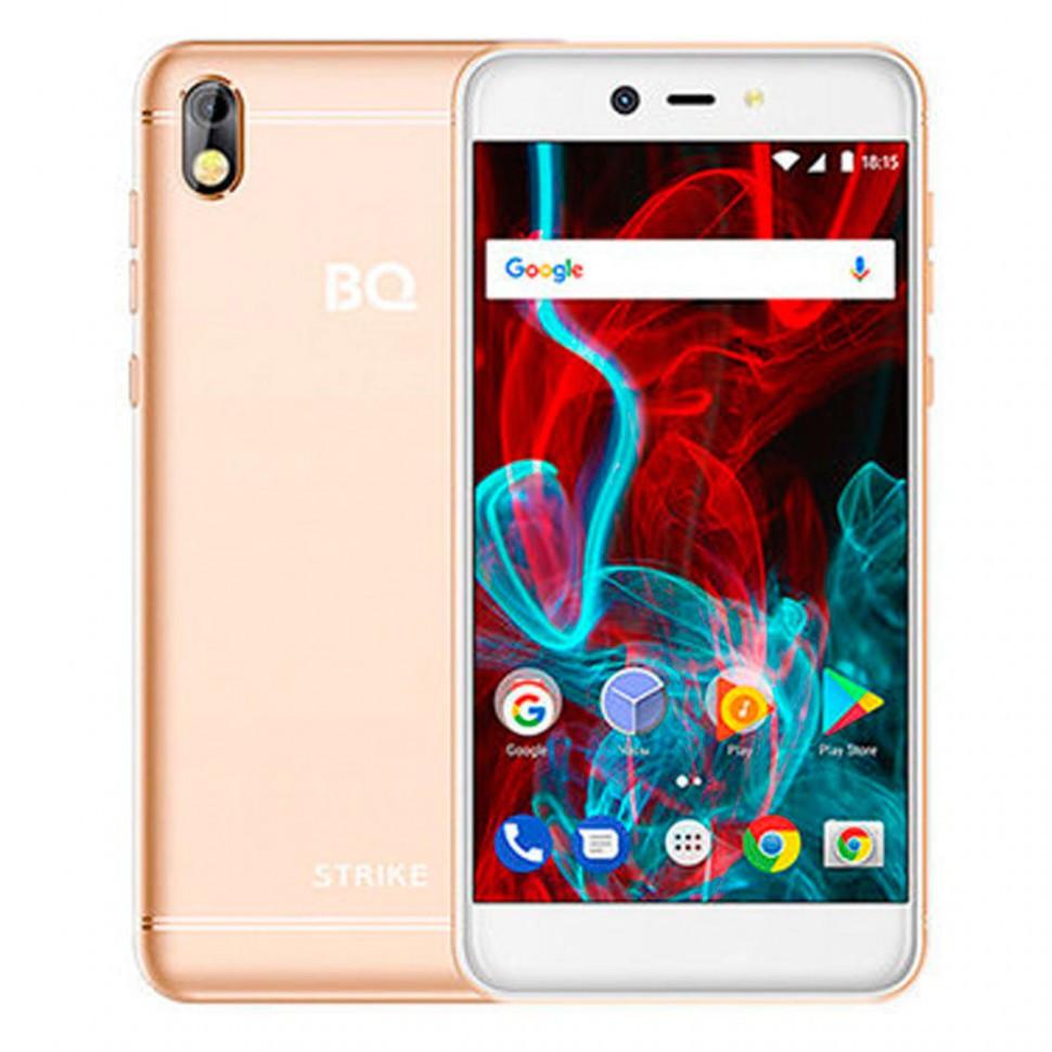 Смартфон BQ 5211 Strike Gold