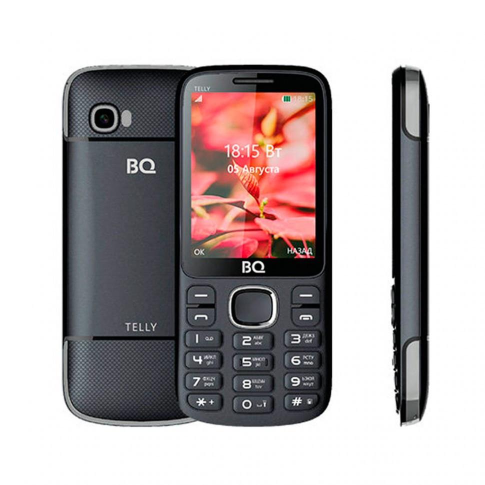 Мобильный телефон BQ 2808 TELLY, Black+gray