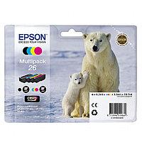 Картридж Epson C13T26164010 XP600/7/8 набор 4шт