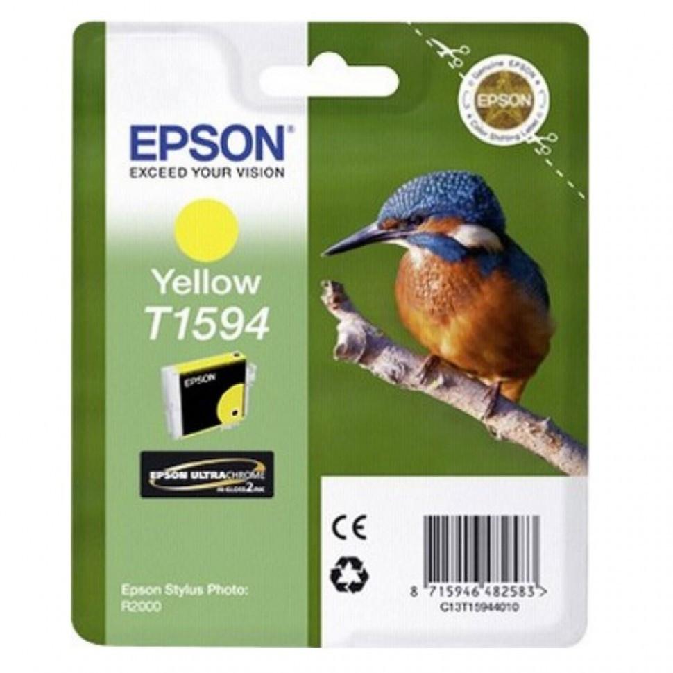 Картридж с желтыми чернилами Epson, C13T15944010