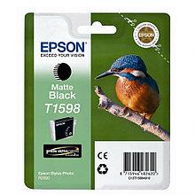 Картридж с черными чернилами для печати на матовых носителях Epson, C13T15984010