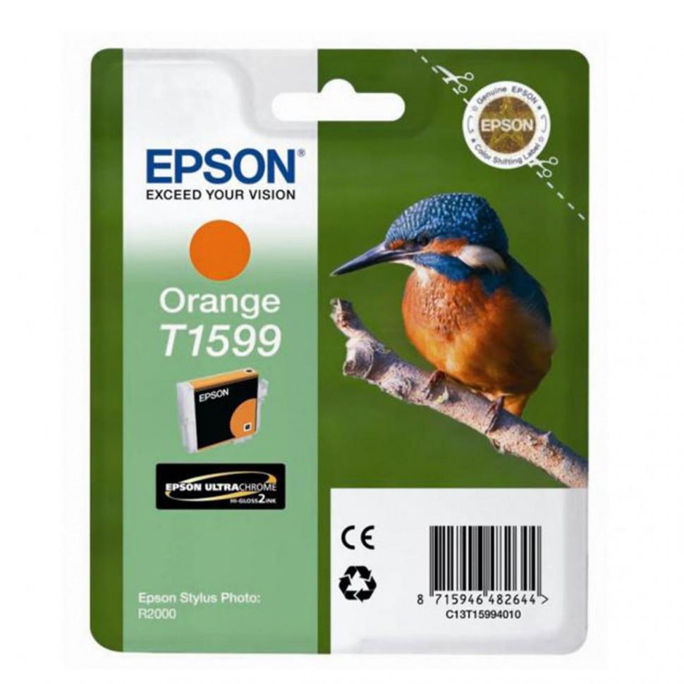 Картридж с оранжевыми чернилами Epson, C13T15994010