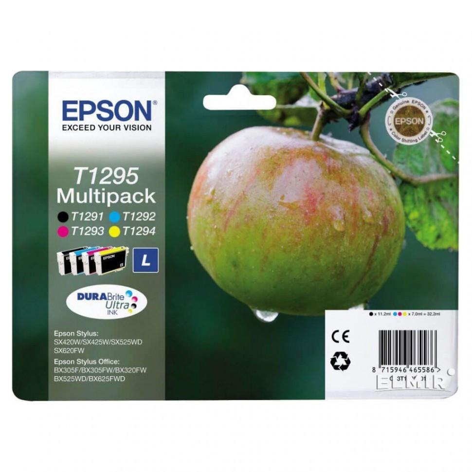 Картридж Epson C13T12954012 SX420W/BX305F набор 4 шт