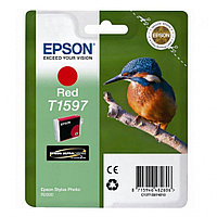 Картридж с красными чернилами Epson, C13T15974010