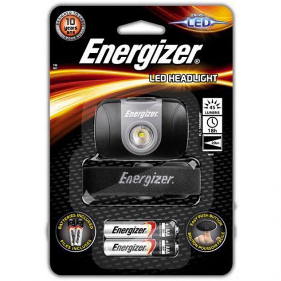 Фонарь налобный Energizer Headlight 3x AAA