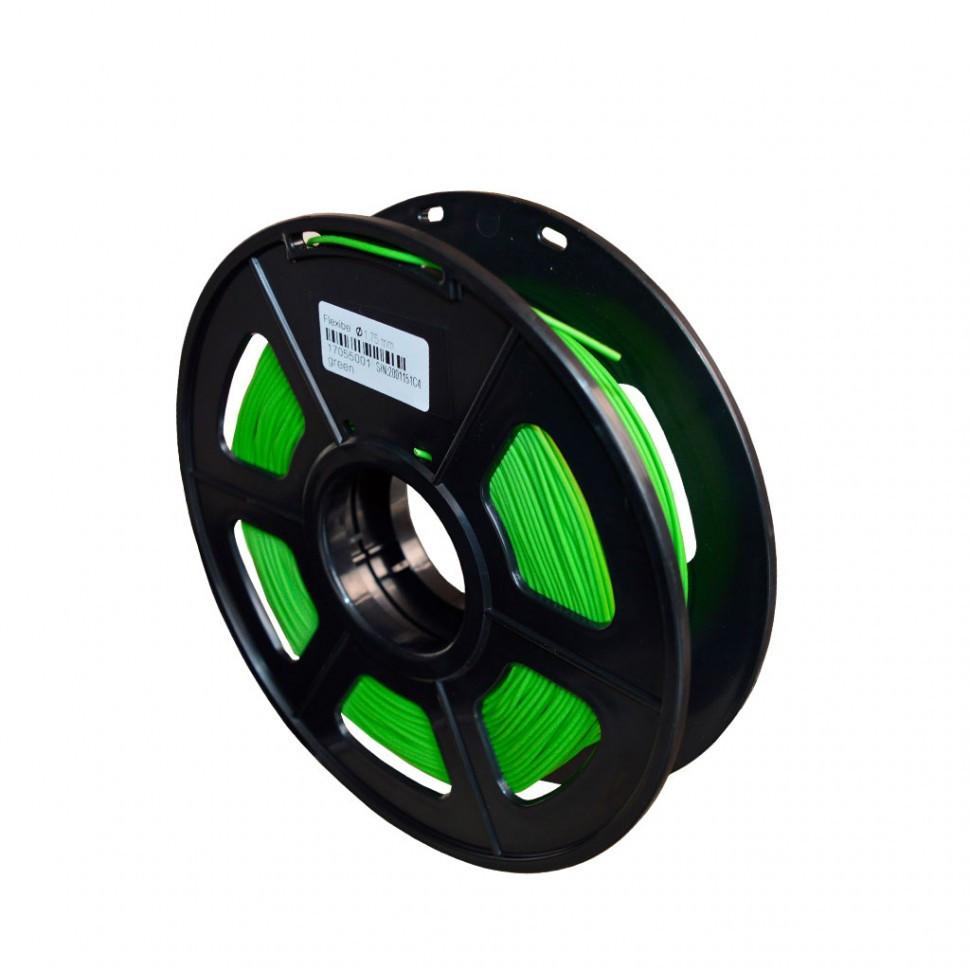 Пластик для 3D принтеров гибкий, SunLu, зеленый