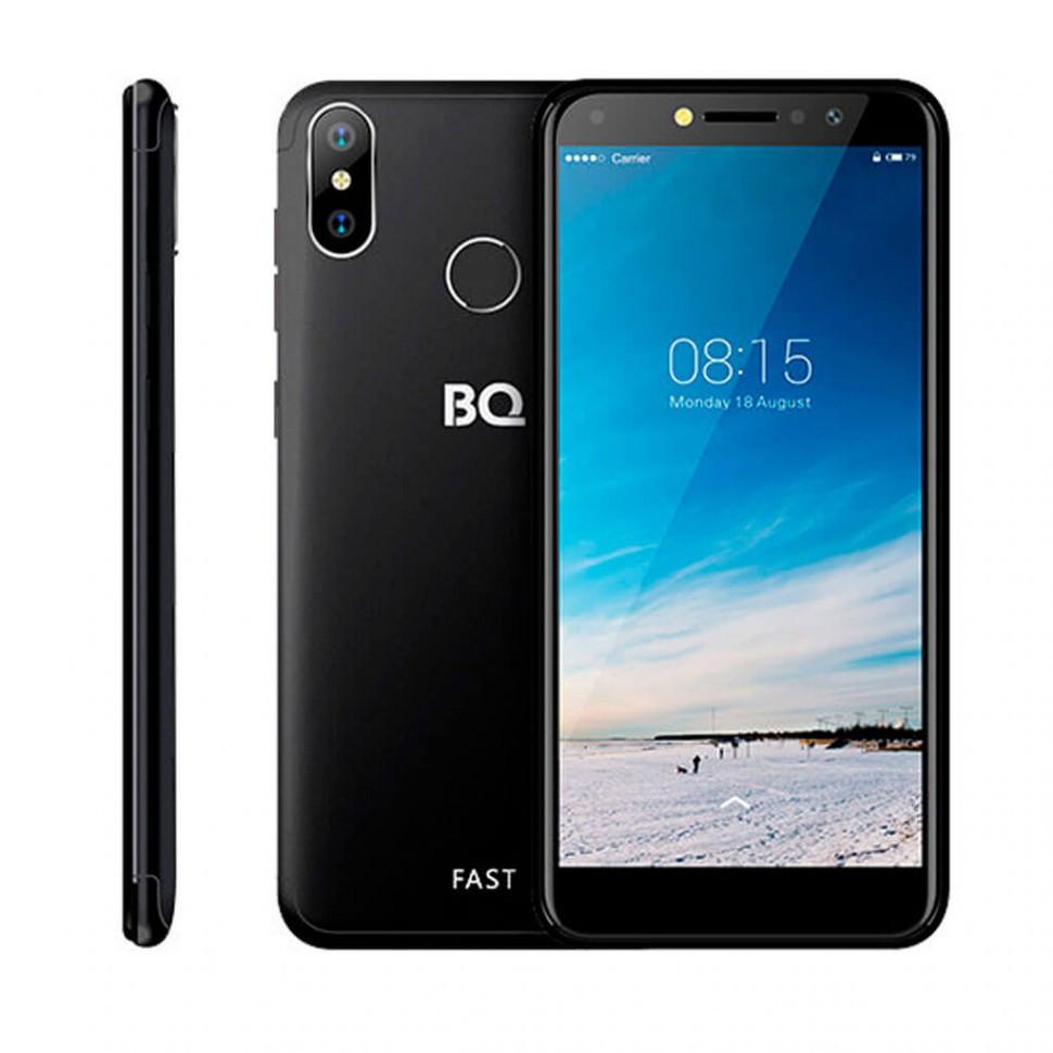 Смартфон BQ-5515L Fast, Черный