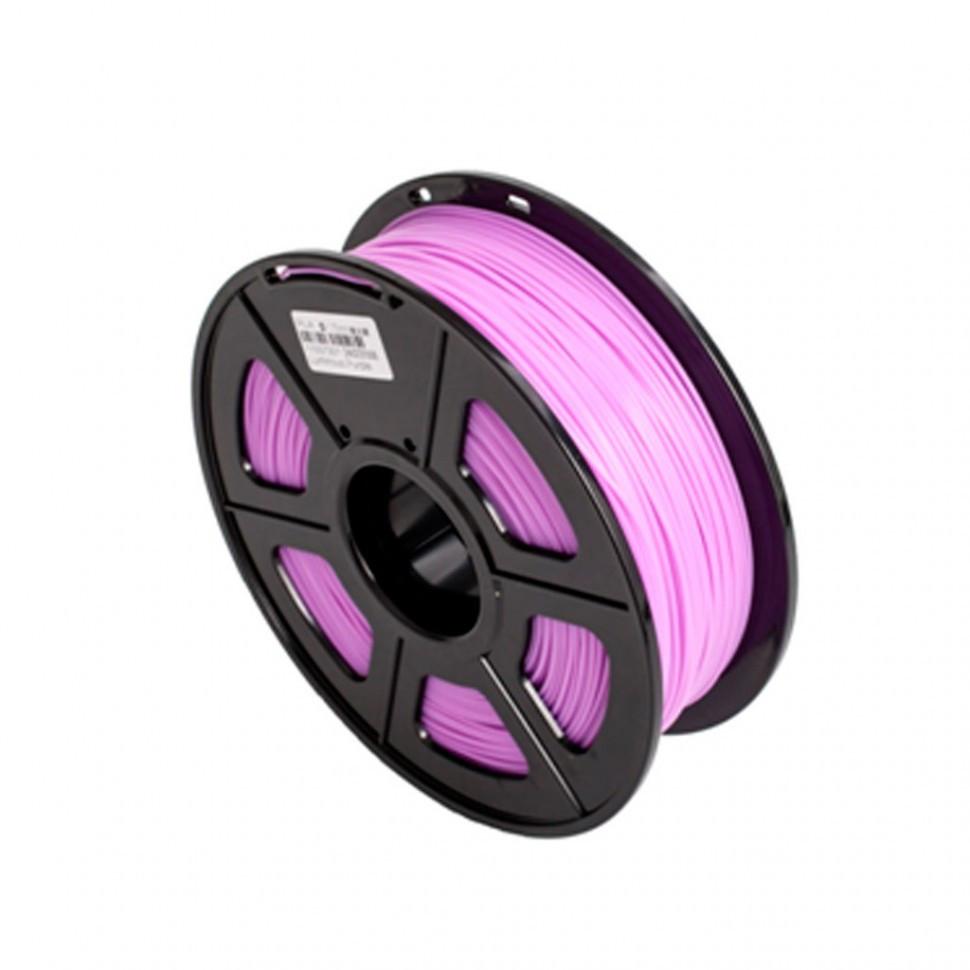 Пластик для 3D принтеров PLA, SunLu, светящийся, пурпурный