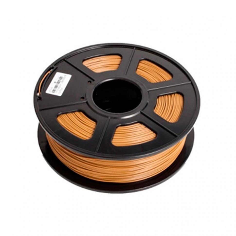 Пластик для 3D принтеров PLA, SunLu, коричневый