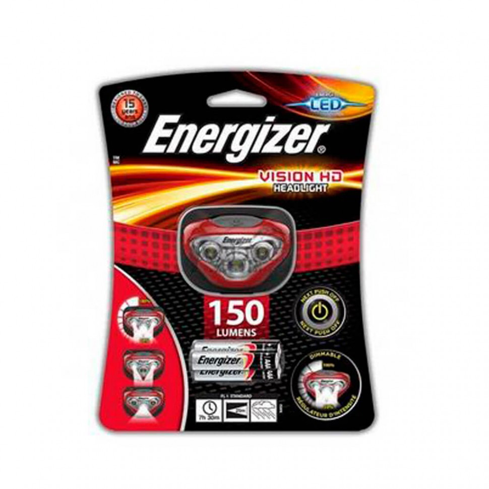 Фонарь налобный Energizer Vision HD new