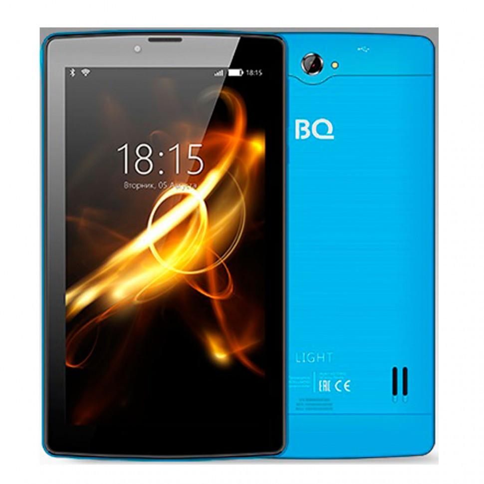 "Планшет BQ-7083G Light Blue (7"", 1024*600, TN, 4*1.0Ghz,  1+8Гб, GPS, 7.0)"