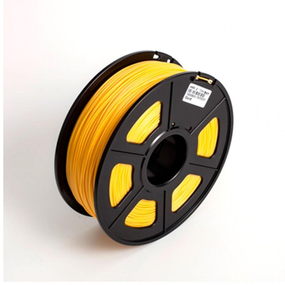 Пластик для 3D принтеров ABS, SunLu, желтый