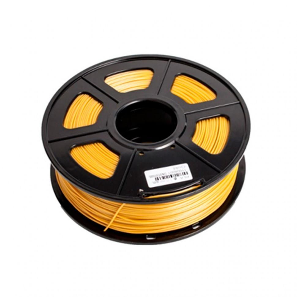 Пластик для 3D принтеров ABS, SunLu, золотистый