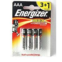 Элемент питания LR6 AA Energizer MAX Alkaline 3+1 штуки в блистере
