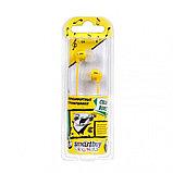 Наушники проводные, пассивные SmartBuy COLOR BURST, желтые (SBE-5700) 24/240, фото 2