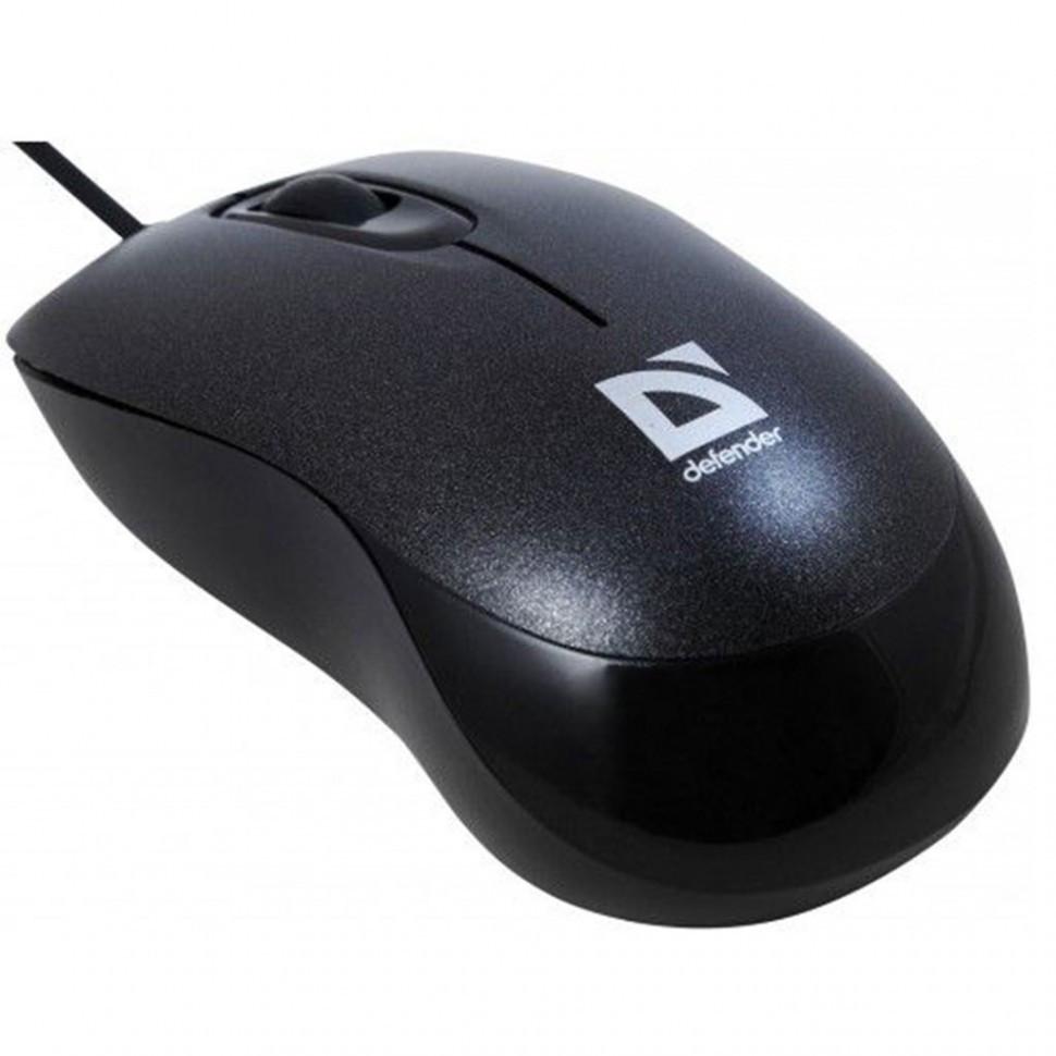 Компьютерная мышь Defender Orion MM-300 черный, 52813