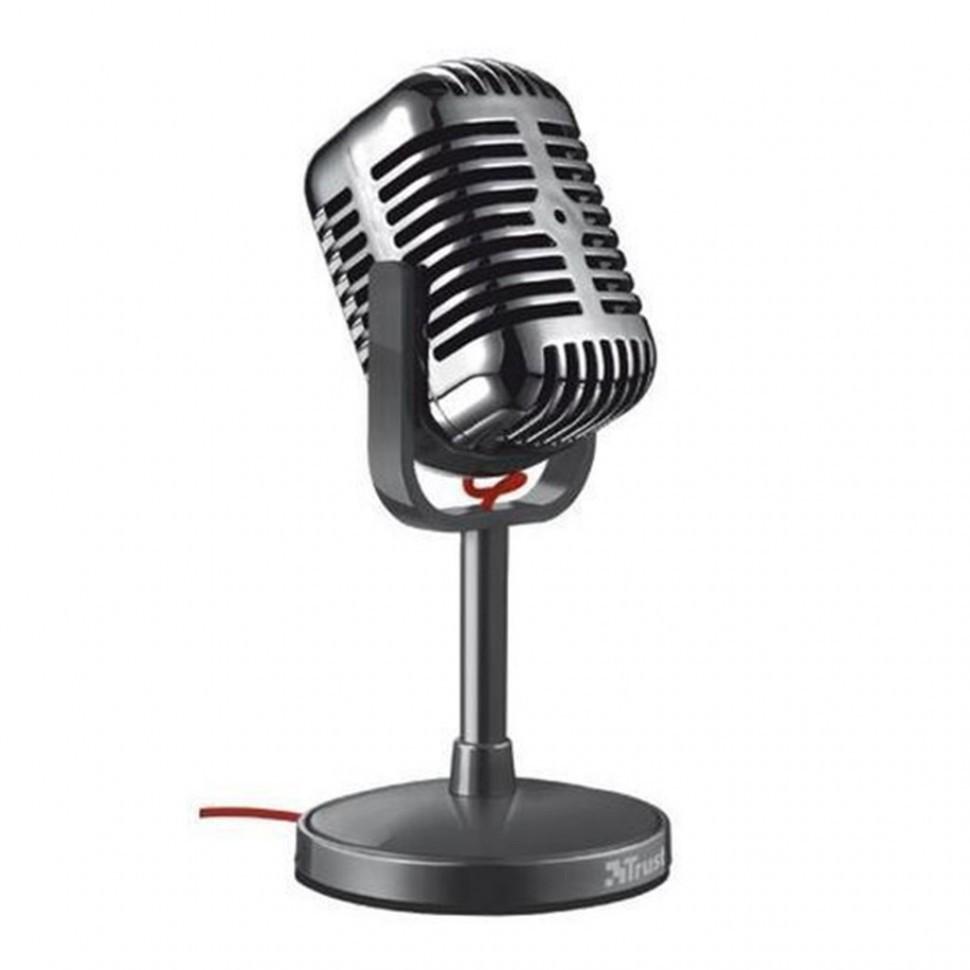 Микрофон Trust Elvii Desktop Microphone