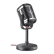 Микрофон компьютерный Trust Elvii Desktop Microphone
