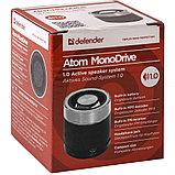 Компактная акустика Defender Atom Monodrive 6 Вт, FM,SD/USB, фото 2