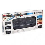 Клавиатура проводная Defender Oscar SM-600 Pro черный, фото 2