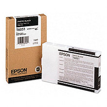 Картридж с черными чернилами для печати на глянцевых носителях C13T605100