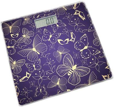 Весы напольные Saturn ST-PS0282 фиолетовый (Butterfly)
