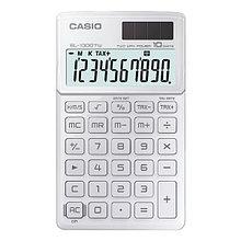 Калькулятор карманный CASIO, SL-1000TW-WE-S-EH, белый
