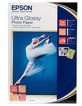Бумага Epson Ultra Glossy Photo Paper, 10x15 см, C13S041943, 50 листов