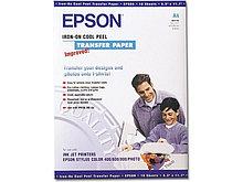 Бумага Epson Iron-on Peel Transfer Paper, A4, C13S041154