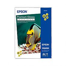 Бумага Epson Premium Glossy Photo Paper, C13S041287, A4, 20л
