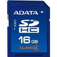 Карта памяти Secure Digital 16 GB ADATA, Class 4, ASDH16GCL4-R