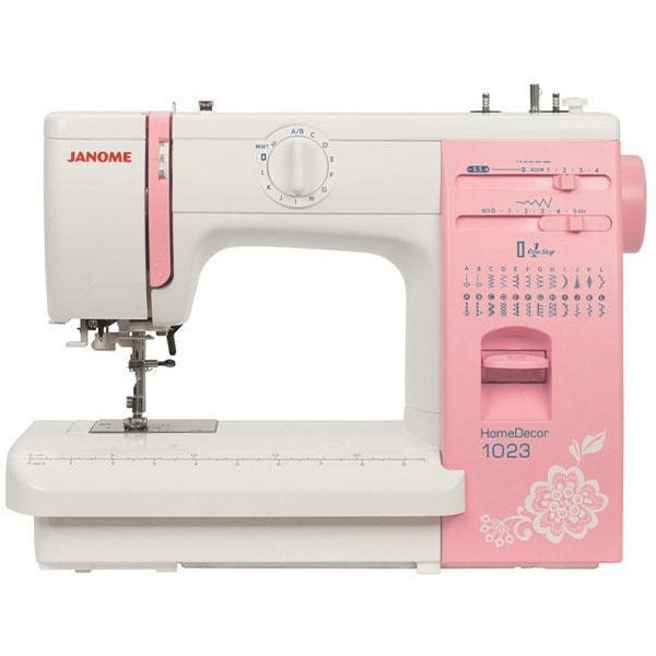 Электромеханическая швейная машина Janome HomeDecor 1023