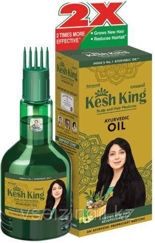 "Масло ""Кеш Кинг"" для роста и против выпадения волос 100 мл/Herbal Hair Oil Kesh King 100 ml"