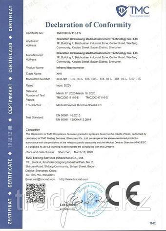 Бесконтактный инфракрасный термометр XHK-001, фото 2