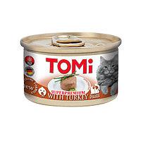 TOMi Turkey ТОМИ ИНДЕЙКА, консервы для котов, мусс 85 гр