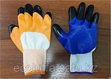 Перчатки черный палец