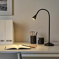НЭВЛИНГЕ Рабочая лампа, светодиодная, черный, черный