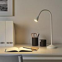 НЭВЛИНГЕ Рабочая лампа, светодиодная, белый, белый