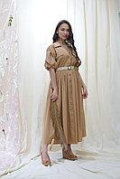 Платье сафари 46